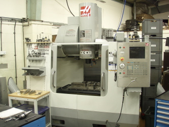 Haas VF-2SS with 4th Axis